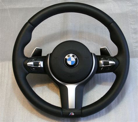 M Sports leather steering wheel with shift paddles - BMW ...