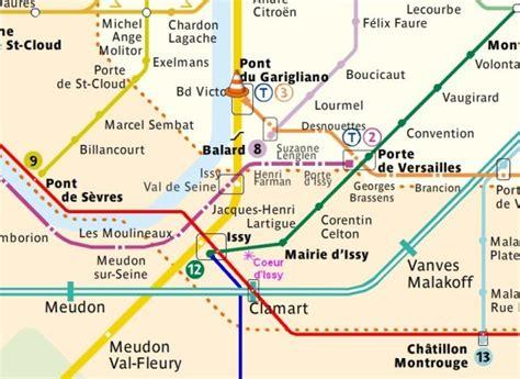Carte Métro Rer Banlieue by Plan Interactif M 233 Tro Rer Banlieue