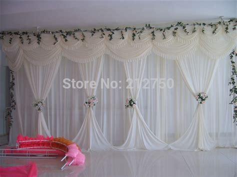 aliexpress buy white wedding backdrop