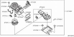 Infiniti Qx60 A  C Evaporator Drain  Cooling  Unit