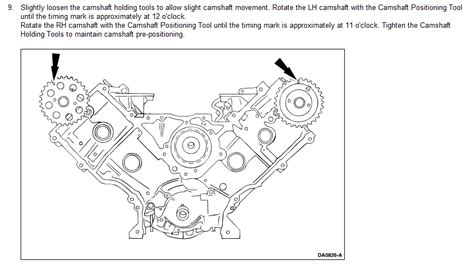 i have a 2000 ford f150 5 4 lt engine there are not timing marks my timing chain do you