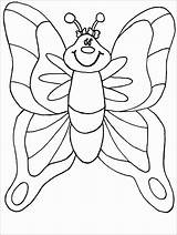 Moth Coloring Popular sketch template