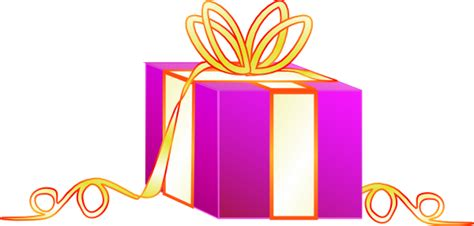 Wrapped Gift Clip Art Free Vector / 4vector
