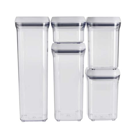 kitchen canister sets australia 5 pop container set oxo
