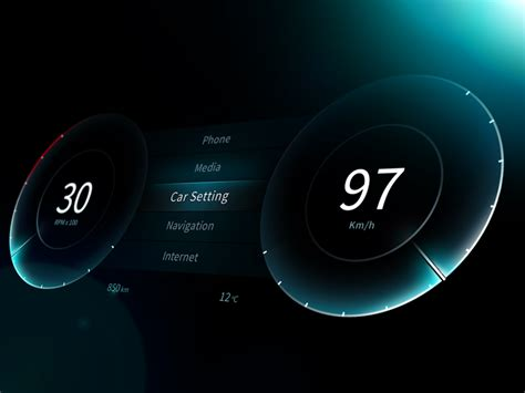 car dashboard ui ux concepts inspiration supply medium