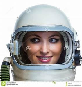 Beauty Astronaut Stock Photo - Image: 50082685