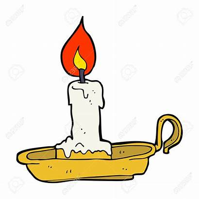 Candle Clipart Stick Candlestick Cartoon Clipground Clipartmag