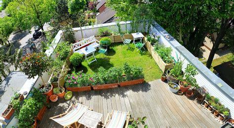tobias s rooftop garden in berlin finegardening