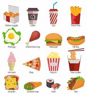 Design elements - Fast food | Fast food bar | Fast food ...