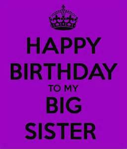 Happy Birthday to My Big Sister Cards