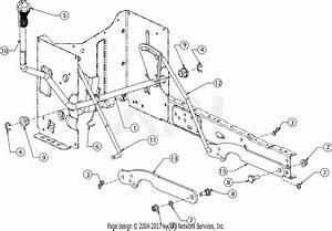 Troy Bilt 13wm77ks011 Pony  2016  Parts Diagram For Deck Lift