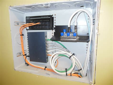 Home Ethernet Wiring Network by Structured Wiring Services In Atlanta