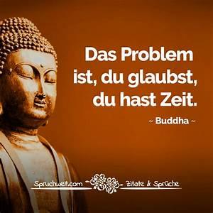 Buddha Sprüche Bilder : das problem ist du glaubst du hast zeit buddha zitat ~ Orissabook.com Haus und Dekorationen
