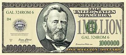 Dollar Million Bill Clipart Question Blank Bills