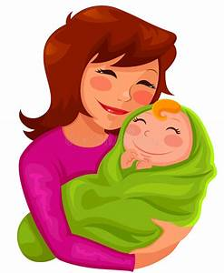Mother and baby stock vector. Illustration of woman ...