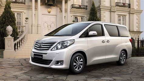 toyota alphard vellfire photo gallery autoblog