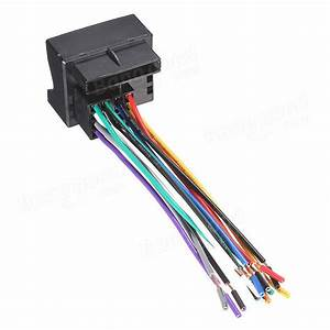 Car Stereo Radio Player Wire Harness Adapter Plug For Vw