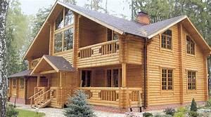 chalets en bois rondins et poteaux poutres made in poland With prix maison en rondin 0 maison en bois top maison