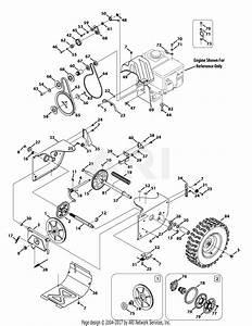 Troy Bilt 31ah64q4711 Storm 2840  2013  Parts Diagram For Drive System