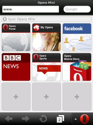 opera mini 6 5 now available for blackberry smartphones