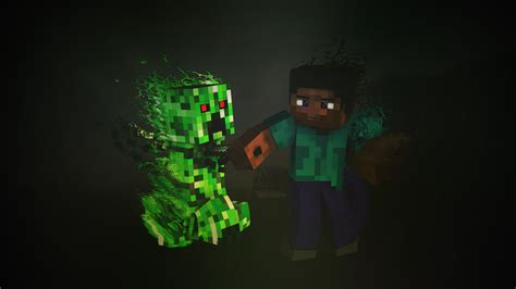 Anime Minecraft Wallpaper - minecraft creeper hd 4k wallpapers images