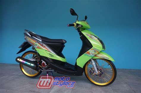Motor Mio Soul Thailook by Modifikasi Mio Soul 2009 Cipanas Merantau Genre