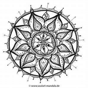 Ausmal Mandala SoulArt Mandala Seelen Energiebilder