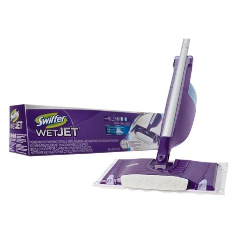 Swiffer Wood Floor Cleaner by New Swiffer Wetjet Spray Mop Floor Cleaner Starter Kit All