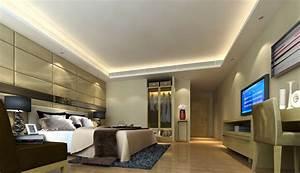 Modern minimalist interior design hotel room download 3d for Interior decoration hotel rooms