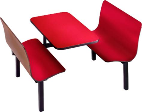 fast food table 4 persons fast food table chair