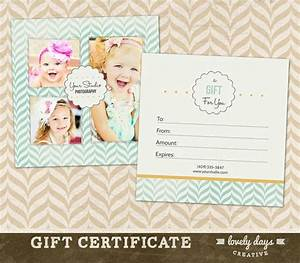 photography gift certificate template for professional With photoshoot gift certificate template