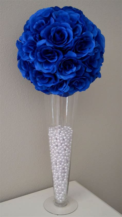 royal blue table decorations black silver and royal blue table setting royal wedding