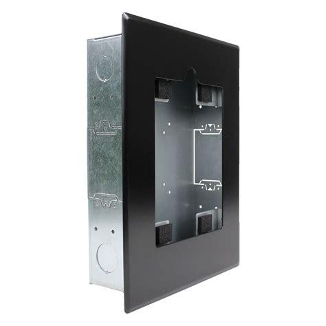 flush mount ipad wall enclosure