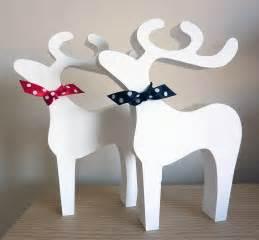 reindeer decoration by cherub design notonthehighstreet - Christmas Reindeer Decoration
