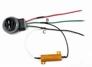 How To Install Load Resistors For Led Turn Signal Lights