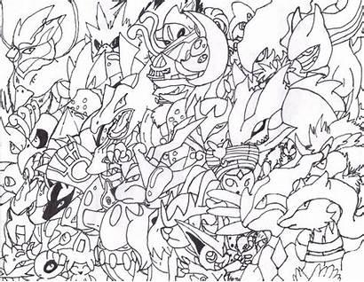 Pokemon Legendary Coloring Sheets Mythical Deviantart Sheet