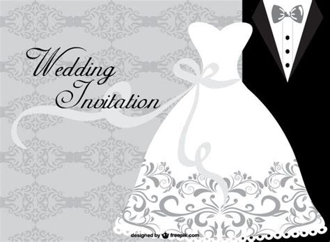 wedding dress card design template  images wedding