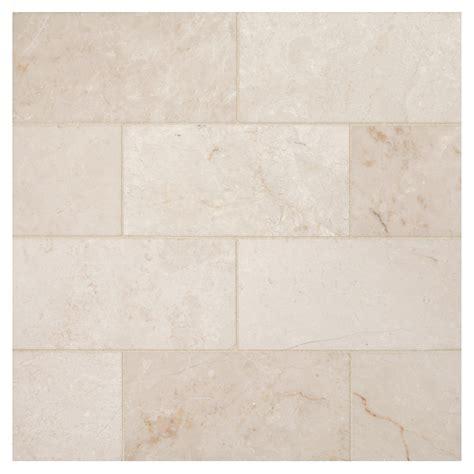 glass subway tiles for kitchen backsplash bourges beige polished 3 quot x 6 quot marble