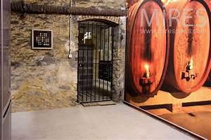 Cave en trompe l oeil C0820 Mires Paris