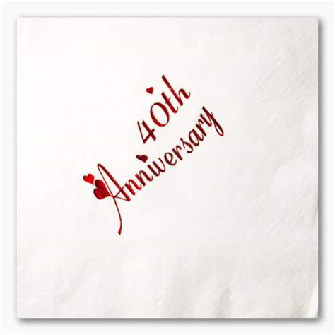 40th wedding anniversary happy 40th anniversary quotes quotesgram