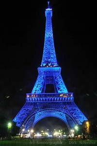 Eiffel Tower At Night Blue | Desktop Backgrounds for Free ...