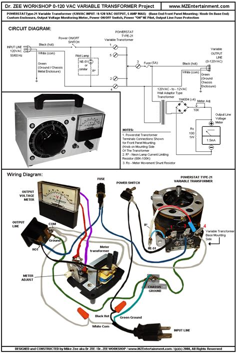 variac transformer wiring diagram 33 wiring diagram