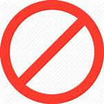 Stop Icon Denied Cross Icons Flat Everyday