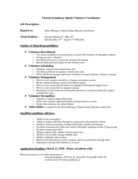 sle resume with volunteer work 28 images 28 community resume objective for volunteer best resume objective for