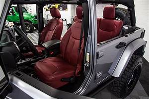 2017 Jeep Wrangler Rubicon Unlimited Firecracker Red