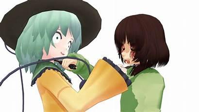 Koishi Chara Komeiji Crossover Undertale Touhou Character
