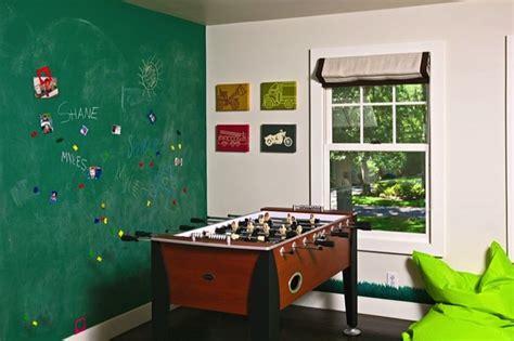 Kids Game Room-transitional-boy's Room-melanie