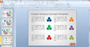 ppt designs free cluster analysis concept powerpoint template