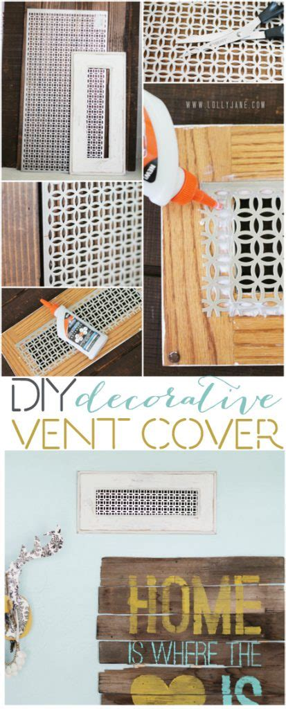 The magnetic vent covers magnetically seals the air from passing through closed metal vents. DIY decorative vent cover