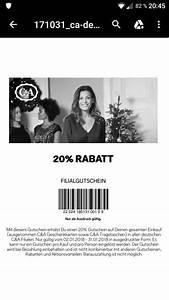 C A Gutschein : c a gutschein 20 rabatt m rz 2018 ~ A.2002-acura-tl-radio.info Haus und Dekorationen